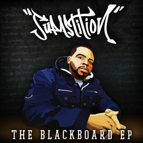 Supastition_Blackboard-_front_cover
